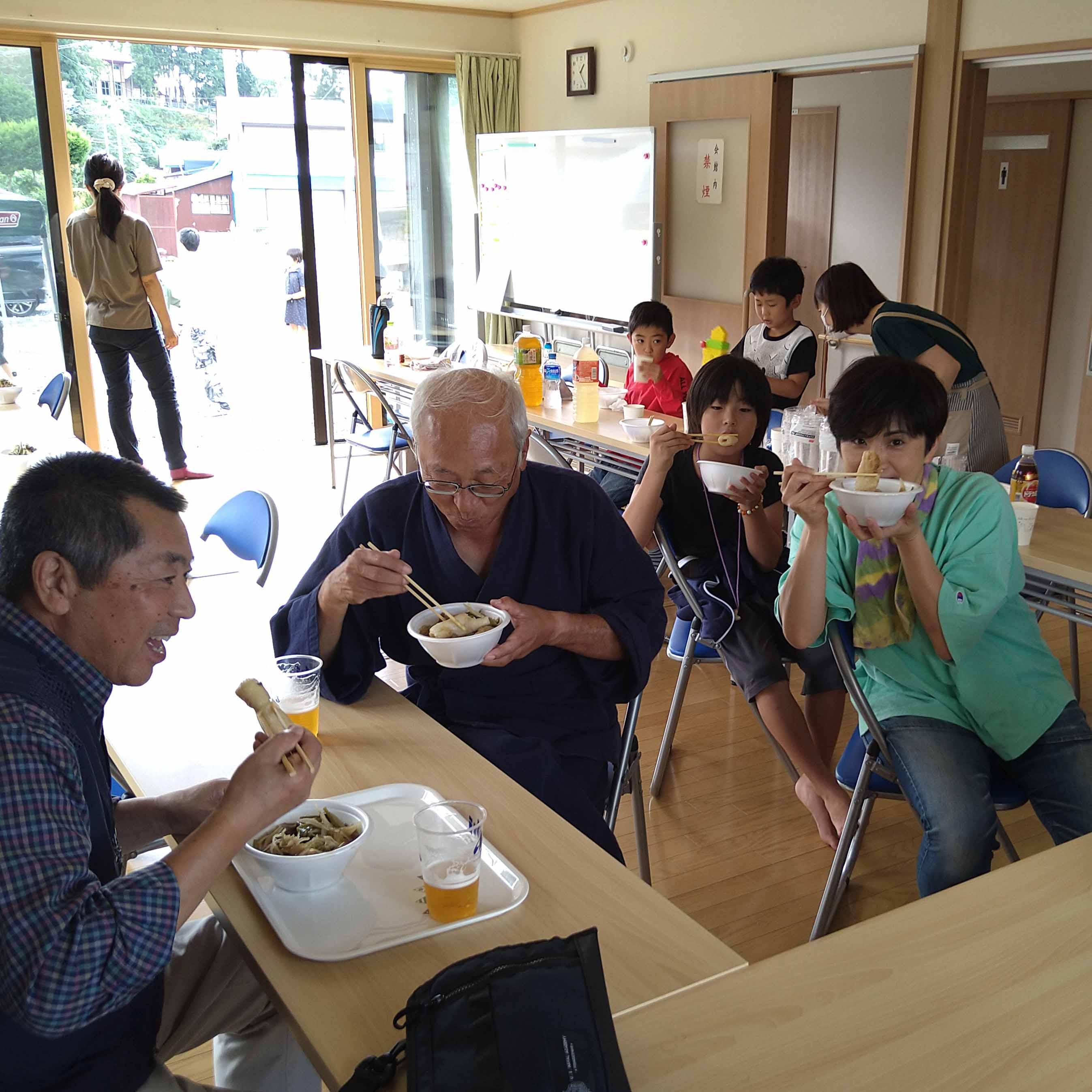 【報告】9/23(水)桂城少年剣友会のみなさんによるなべっこを開催!